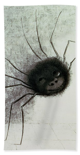 The Laughing Spider Beach Towel