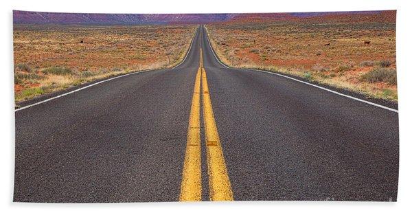 The Long Road Ahead Beach Sheet