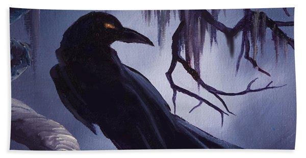 The Raven Beach Towel