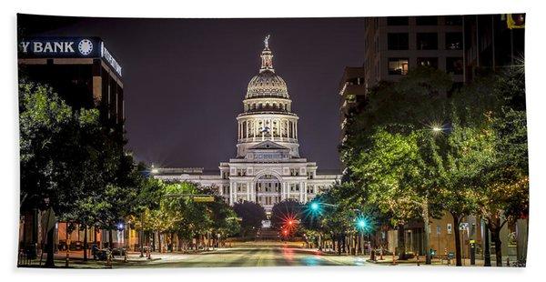 The Texas Capitol Building Beach Towel