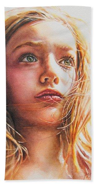 Through The Eyes Of A Child Beach Towel