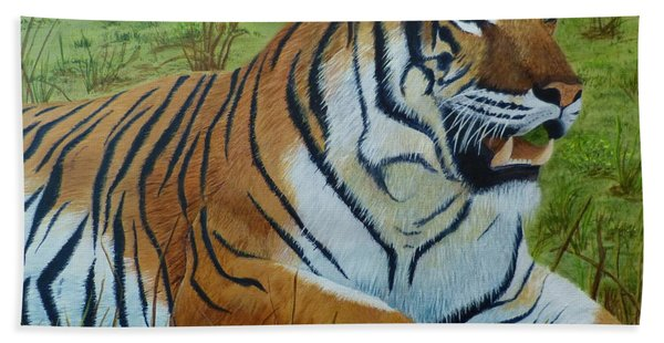 Tiger Tiger Beach Sheet