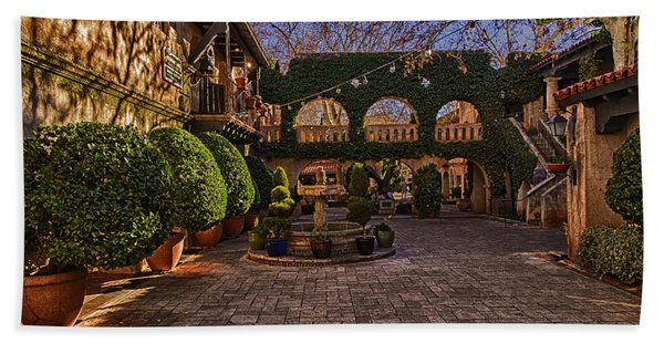 Tlaquepaque Village No.1 Beach Towel