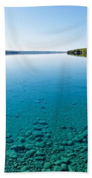 Torch Lake Beach Towel
