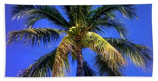 Tropical Palm Trees 8 Beach Sheet