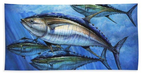 Tuna In Advanced Beach Towel
