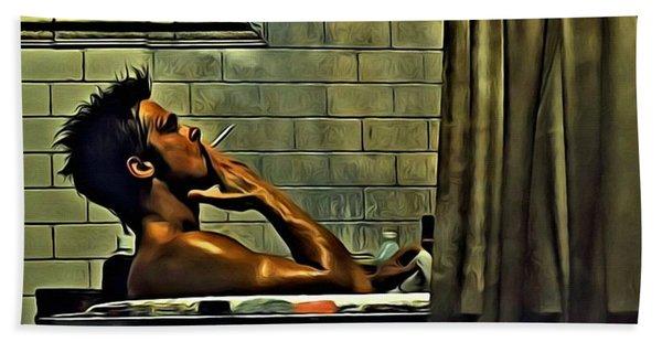 Tyler Durden Beach Towel