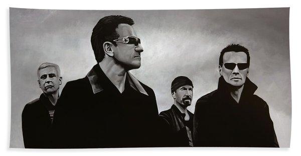U2 Beach Towel