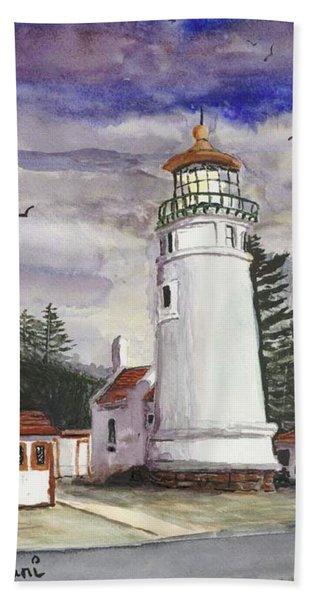 Umpqua Lighthouse Beach Towel