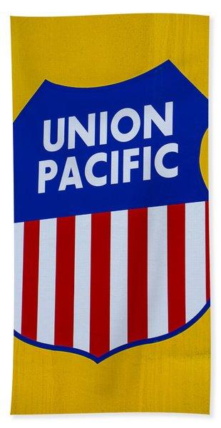 Union Pacific Railroad Beach Towels | Fine Art America