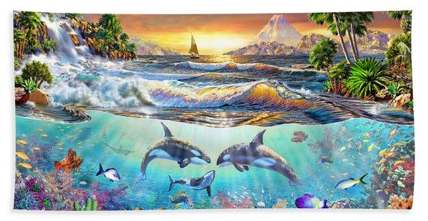 Valhala Dawn Beach Towel