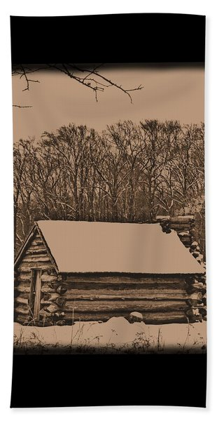Valley Forge Winter 1 Beach Towel