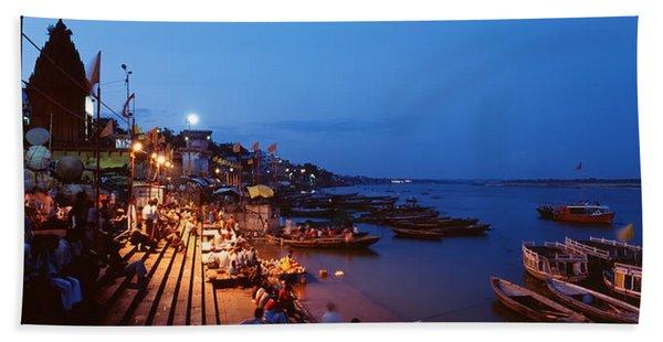Varanasi, India Beach Towel