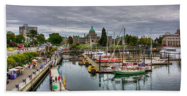 Victoria Inner Harbour Beach Towel