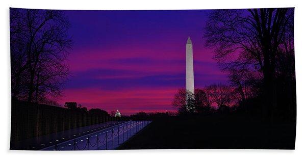 Vietnam Memorial Sunrise Beach Towel
