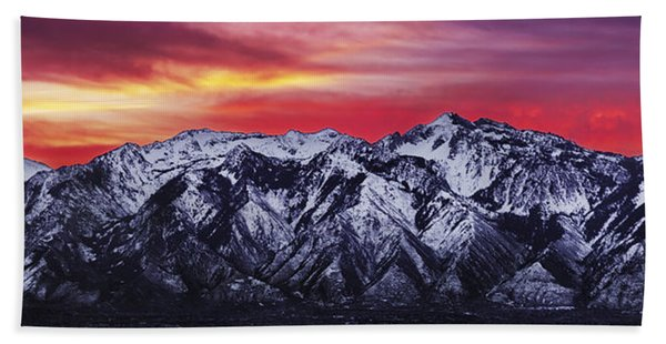 Wasatch Sunrise 3x1 Beach Towel