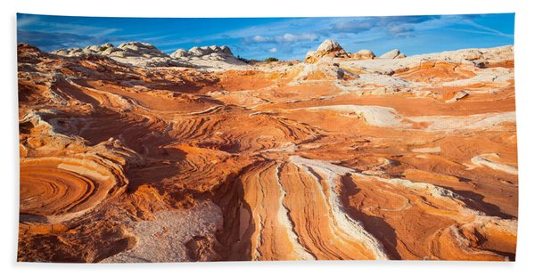 Wild Sandstone Landscape Beach Towel