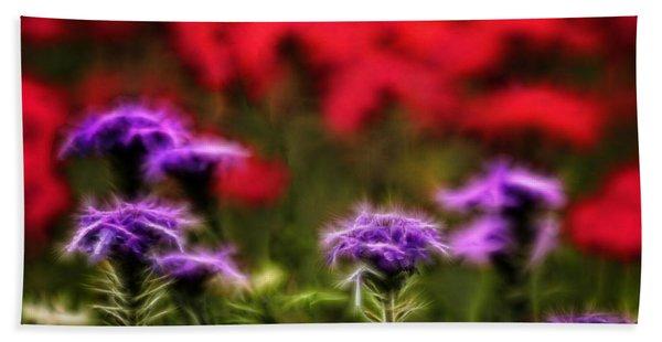 Wildflower Fantasy Beach Towel