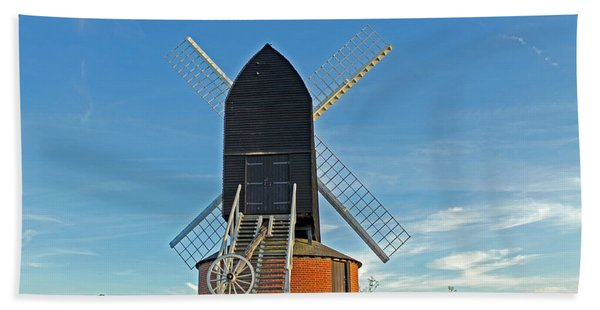 Windmill At Brill Beach Towel