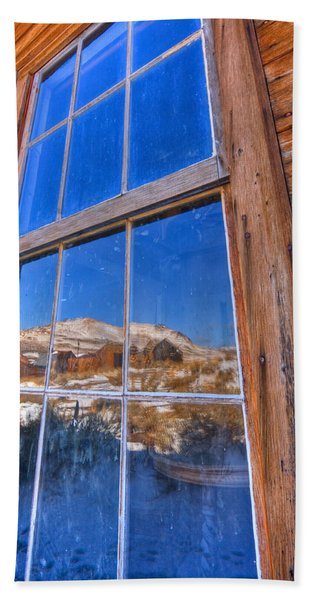 Window To Bodie Beach Sheet