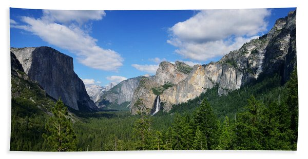 Yosemite National Park Beach Towel