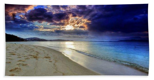 Port Stephens Sunset Beach Towel