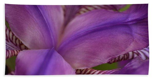Purple Beauty Beach Towel