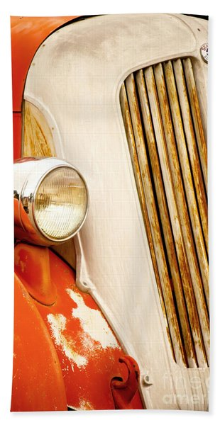 1940's Seagrave Fire Engine Beach Towel