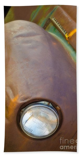 1941 International Truck Fender Beach Towel