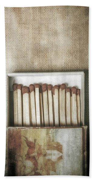 Matches Beach Towel