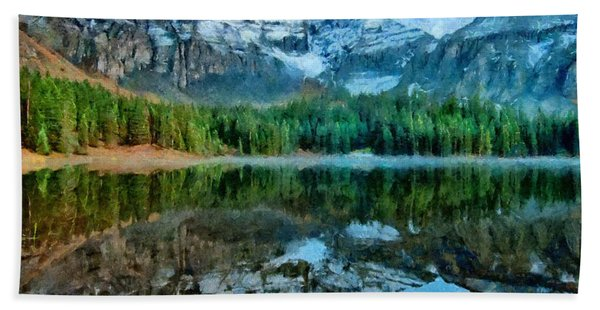 Alta Lakes Reflection Beach Towel