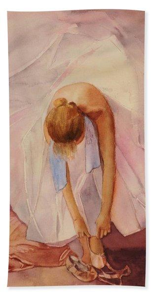 Ballet Dancer Beach Towel