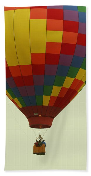 Balloon Ride Beach Towel