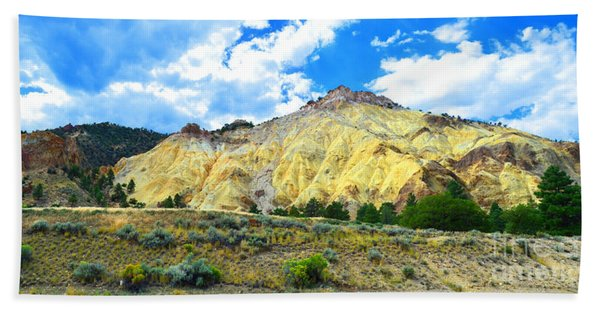 Big Rock Candy Mountain - Utah Beach Towel