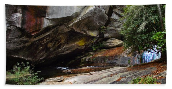 Birdrock Waterfall Beach Sheet