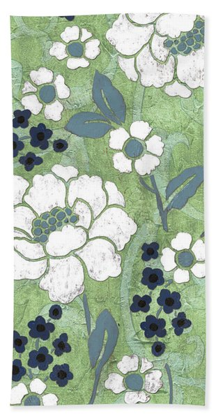 Country Spa Floral 2 Beach Towel