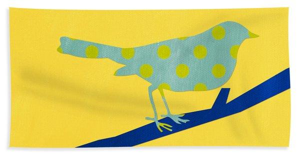 Little Song Bird Beach Towel