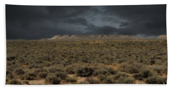 Midnight On The Pairie In Wyoming Beach Towel