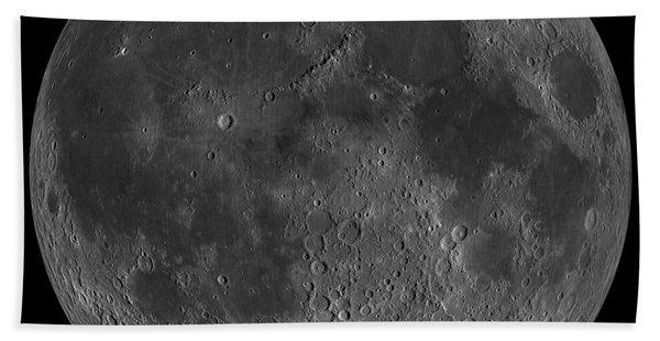 Mosaic Of The Lunar Nearside Beach Towel