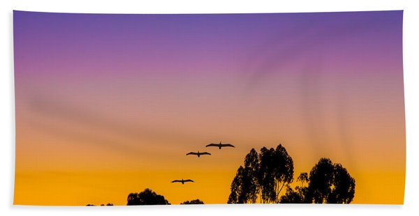 Beach Towel featuring the photograph Osibisa Dawn by Chris Lord