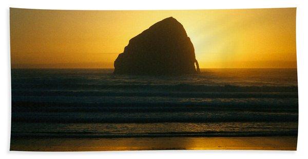 Pacific City Sunset Beach Towel