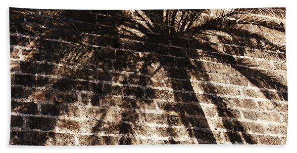 Palm Tree Cup Beach Towel