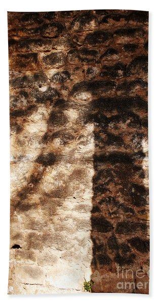 Palm Trunk Beach Towel
