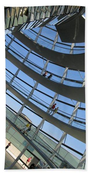 Reichstag Dome Beach Sheet