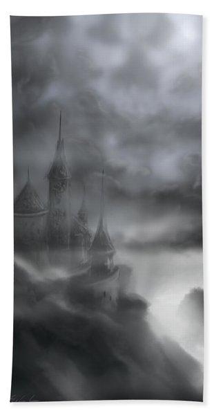 The Skull Castle Beach Towel