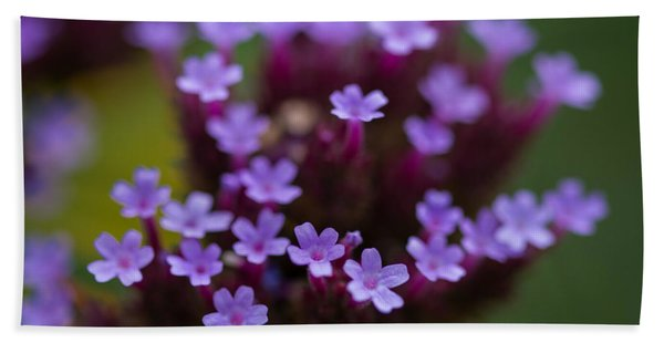 tiny blossoms II Beach Towel