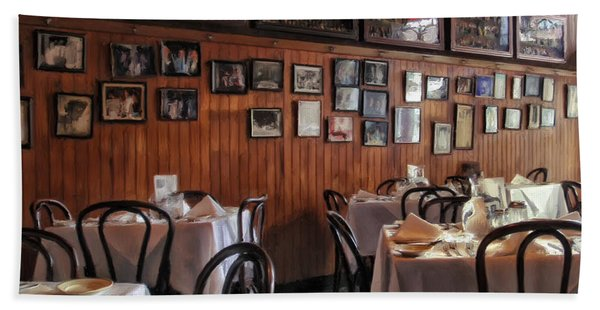 Tujagues Restaurant New Orleans Beach Towel