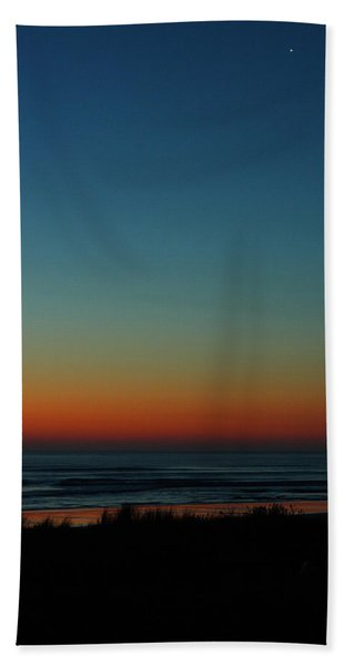Venus And Atlantic Before Sunrise Beach Towel