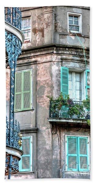 0254 French Quarter 10 - New Orleans Beach Sheet