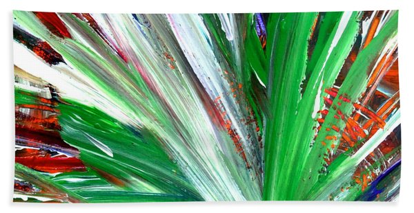 Abstract Explosion Series 92215 Beach Towel